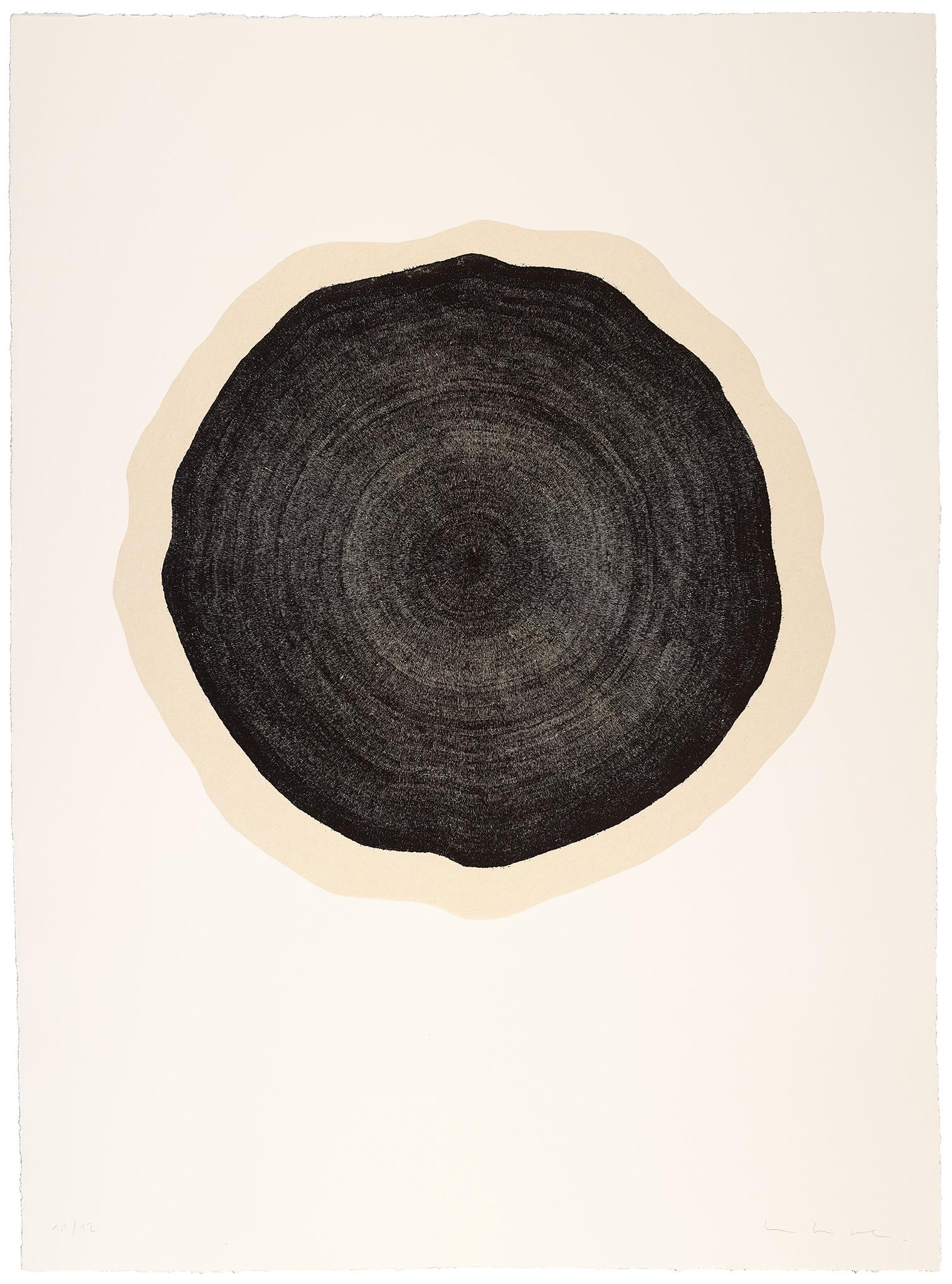 Muriel Moreau  Arbol, série 8, 2017 Eau forte, imprimées sur papier Mingheishi, marouflées sur papier Hahnenmühle 80 x 108 cm